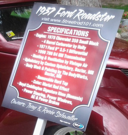 Car Show Display Boards Vintage Mustang Forums - Car show display signs